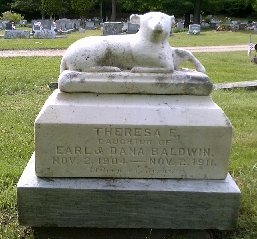 Theresa Baldwin Tombstone